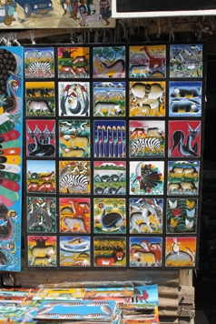 30cm Tingatinga Paintings