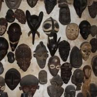 Early Masks Wall