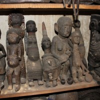 Selection of Old Carvings