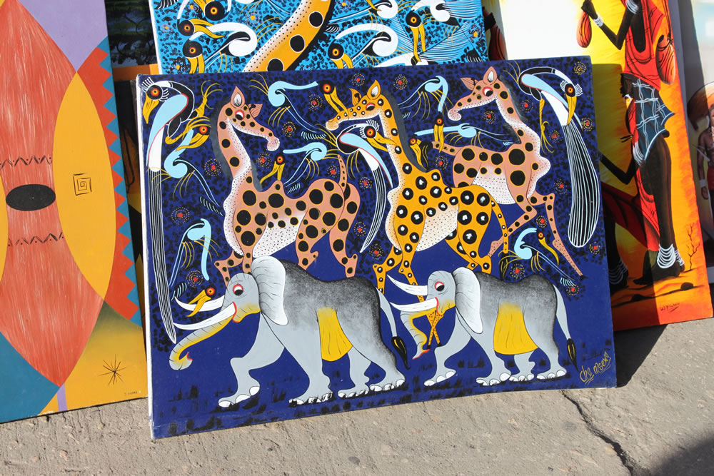 Tinga Tinga Animal Painting