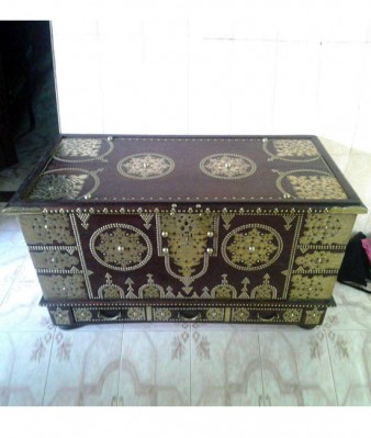 Brass Decorated Chest